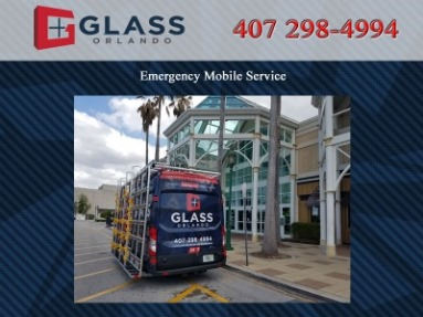 Emergency residential and commercial glass service